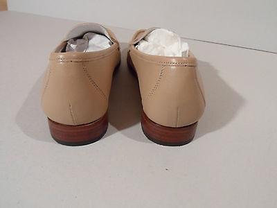 Gabriele por G. Beni Damas Beige Crema Suela de Cuero Zapatos EU 35.5 UK 3 italiano