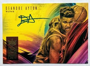 Deandre-Ayton-2018-19-Panini-Court-Kings-Fresh-Paint-199-Rookie-Auto-HOT-RC
