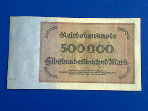 GERMANY-500-000-MARK-1923-VERY-FINE-PLUS