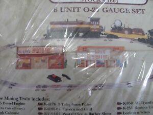 K-Line-Mighty-Missabe-Mining-Train-Set-1601-Factory-Sealed