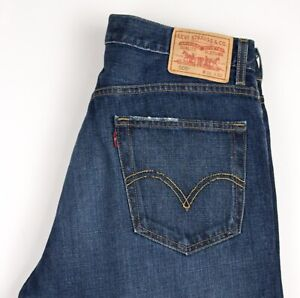 Levi's Strauss & Co Hommes 505 Jeans Jambe Droite Taille W34 L32 AVZ209