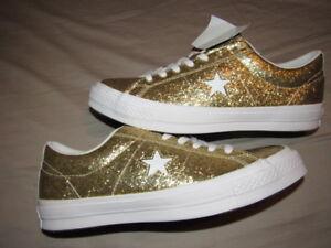 Size One New Star 9 Sparkle 11 Brand Custom Mens Nwob Converse Womens qSnxfwA