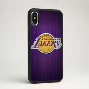 fe5fb209c23218 Los Angeles Lakers NBA Team Logo Silicone Phone Case Cover for ...