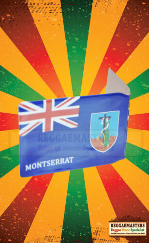 MONTSERRAT Flag Bus pass Travel Card Card Wallet THE EMERALD ISLE-ROOTS CULTURE