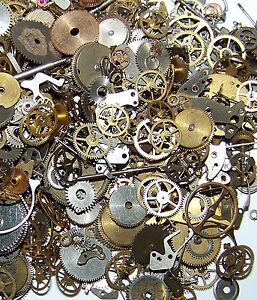 10g Pieces Lot Vintage Steampunk Wrist Watch Old Parts