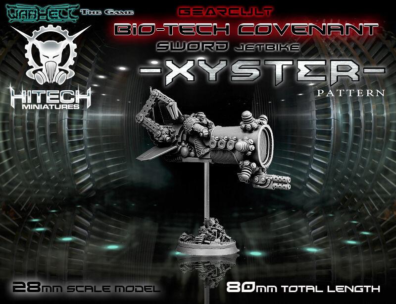 HITECH MINIATURES - MAJ006 Xyster Jetbike Warhammer 40k 40000