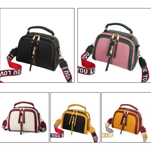 Women Messenger Bags Leather Shoulder Bag Ladies Handbags Purse Satchel