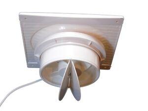 Aspiratore da muro elettrico 17W ventola per fumo aspira odori ...
