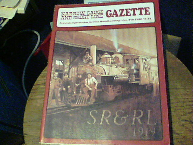 Narrow Gauge And Short Line Gazette Jan/Feb 1980, C&NW