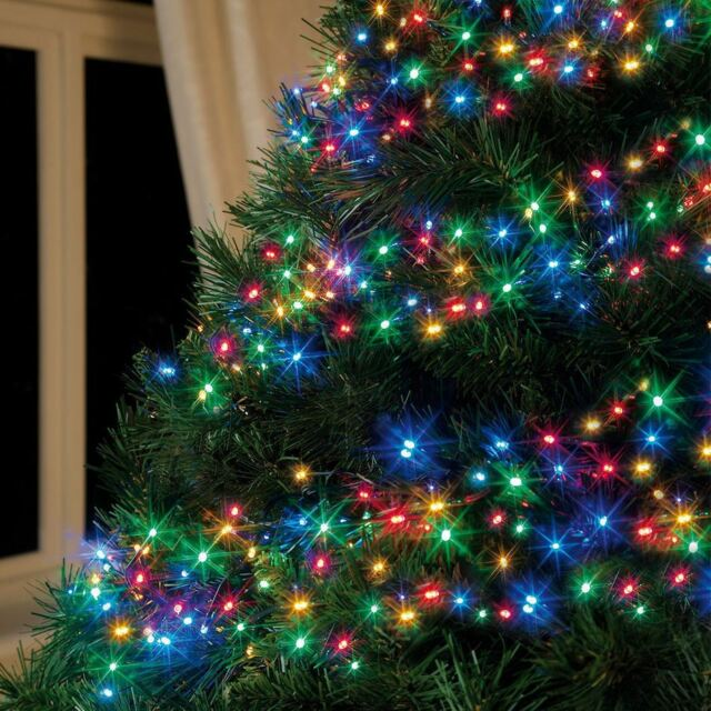 360 LED Multi Colour Multi-action Cluster Christmas Xmas Indoor ...