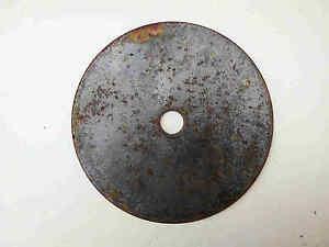Antike-Gusseiserne-Ofenplatte-Ofenring-Herdring-Rund-D-150-mm-RAR