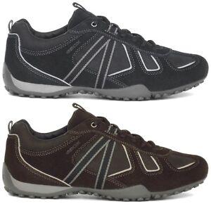 Geox-U-SNAKE-Y-Herren-Sneaker-42-43-44-44-45-46-47-grau-schwarz-braun-Schuhe