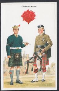 Military-Postcard-British-Army-Series-The-Black-Watch-RT2288