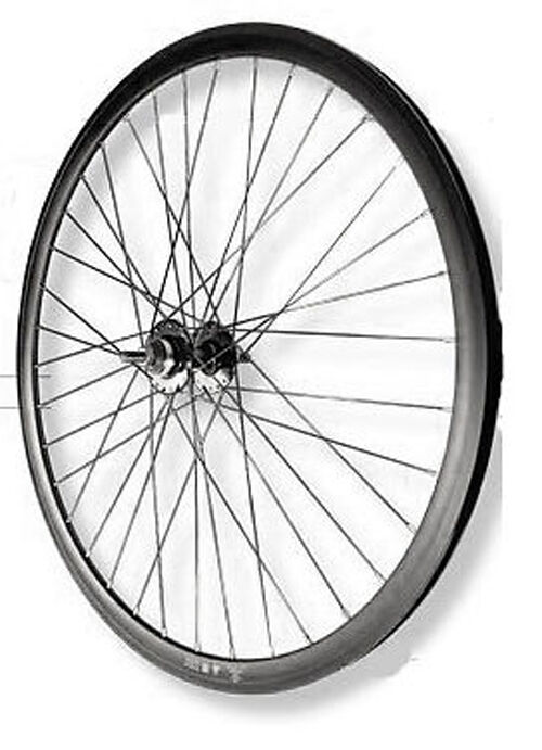 Roue avant FIXIE black VELOX MACH1 piste vélo NEUF bike wheel single speed NOS