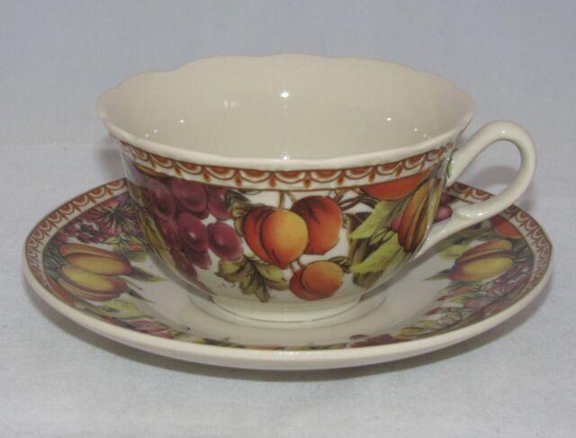 burton+Burton Porcelain Tea Cup & Saucer Gift Set ORCHARD'S OFFERING
