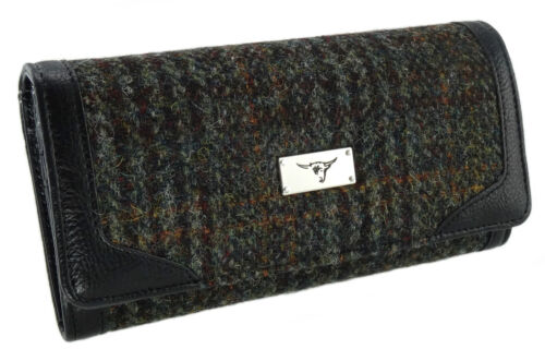 Authentic Harris Tweed Ladies Long Wallet//Purse Available In 7 Colour LB2000