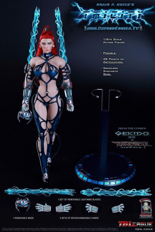 1 6 TBLeague PL2018-88 Lightning diosa Tricity figura femenina