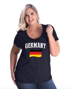 Germany-Women-Curvy-Plus-Size-Scoopneck-Tee