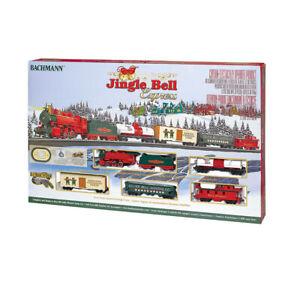 Bachmann Trains Jingle Bell Express HO Scale Ready-to-Run Electric Train Set 22899007243   eBay