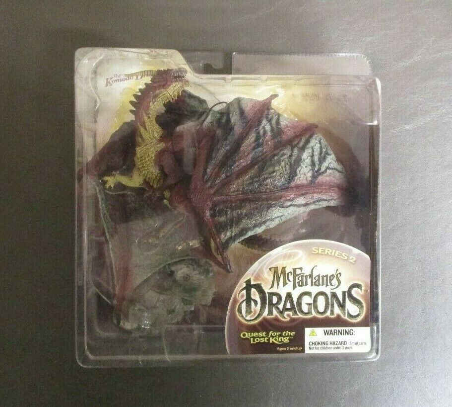 Komodo Clan Dragon (Quest for the Lost King) MCFARLANE TOYS 2005 Series 2 GV