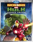 Iron Man  Hulk: Heroes United (Blu-ray Disc)