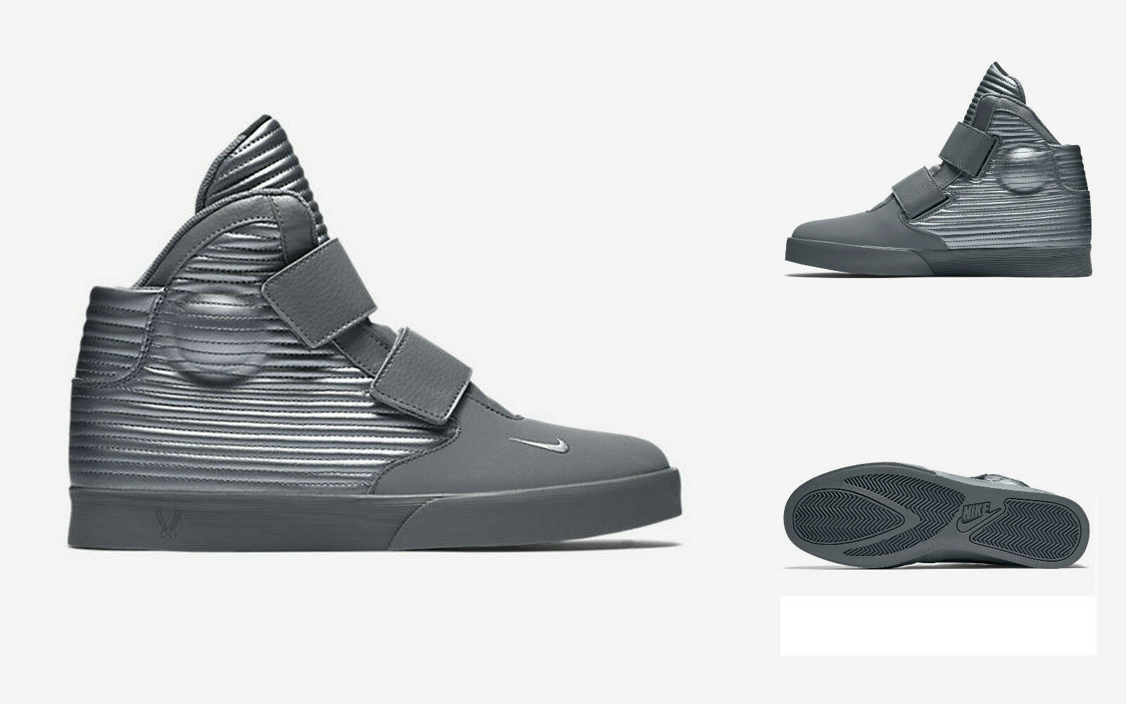 Nike flystepper 2k3 formatori scarpe grigio metallico 644576098 grigio