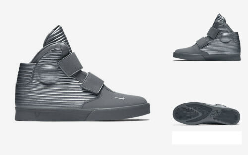 Nike Flystepper 2K3 Trainers Shoes  Grey Metallic Grey 644576098