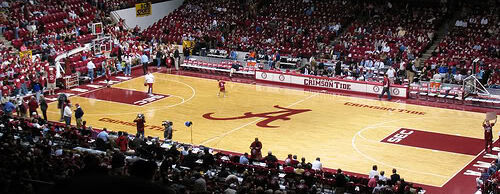 Arkansas Razorbacks at Alabama Crimson Tide Basketball