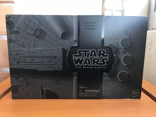 Han Solo exogorth Escape Negro Serie Estrella Wars Exclusivo San Diego comic-con 18