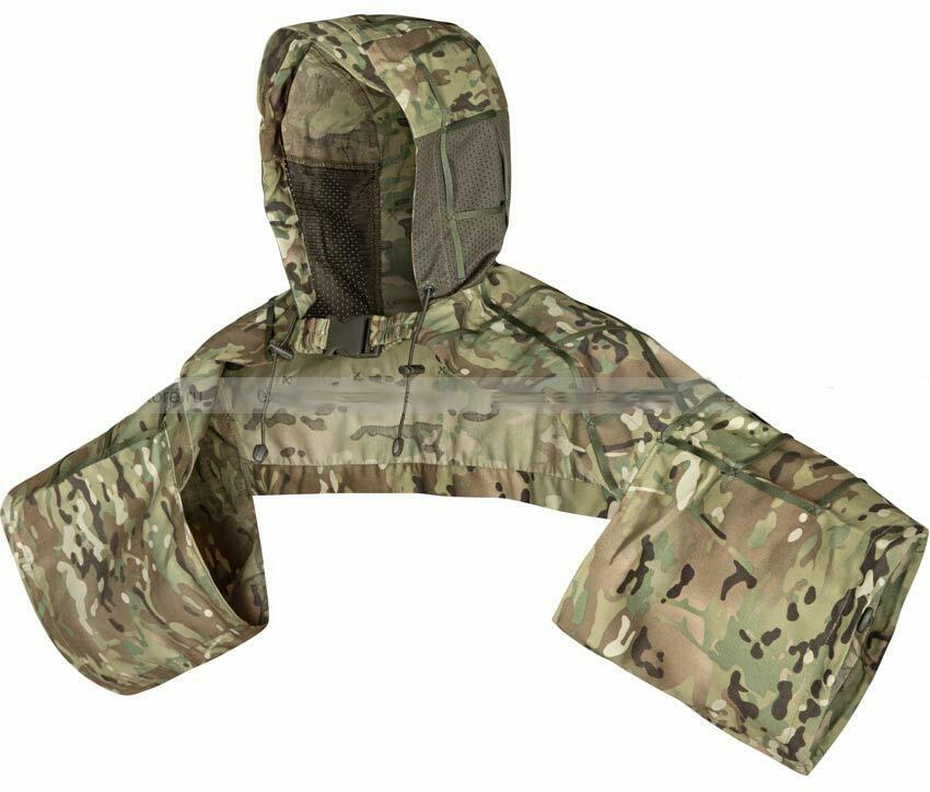Russian Army Spetsnaz Disguise Sniper Coat, Viper Hood camouflage Multicam   shop now