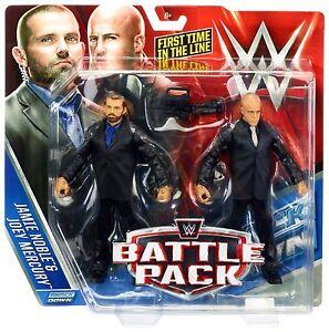 Wwe J et figurines de sécurité Battle Pack 37 Jamie Noble Joey Mercury en première ligne
