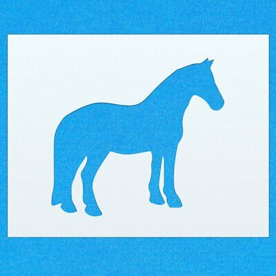 Horse Equestrian Animal Mylar Airbrush Painting Wall Art Stencil six