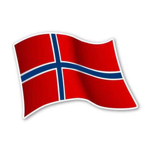 Norwegen Flagge Norway Autoaufkleber Sticker Fahne Aufkleber DRU 0074