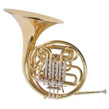 Karl Glaser French Horn, Doppel Waldhorn, F/Bb, Koffer, mit festem Schallbecher