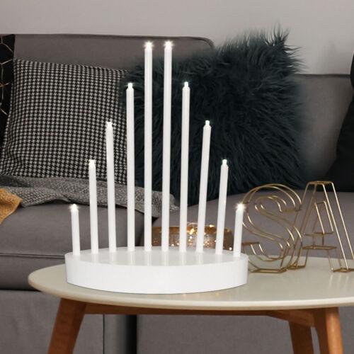 LED Weihnachts Bogen Lampe X-MAS Dekoration Wohn Zimmer Tisch Beleuchtung Kerzen