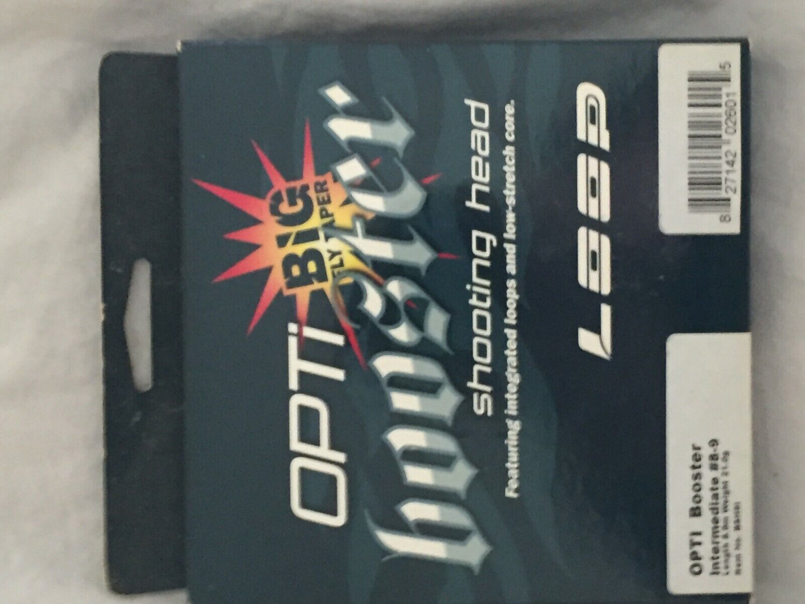 Loop Opti Intermediate Booster 8-9 wt (Big Fly Taper Shooting Head ) New in Box