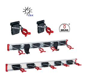 BRUNS Gerätehalter-Schiene Halter Garten-Geräte Werkstatt Werkzeug