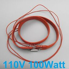 110- 130V 100W Brew Heating Heater Brewing Belt Pad Wine Beer Fermentation Pails