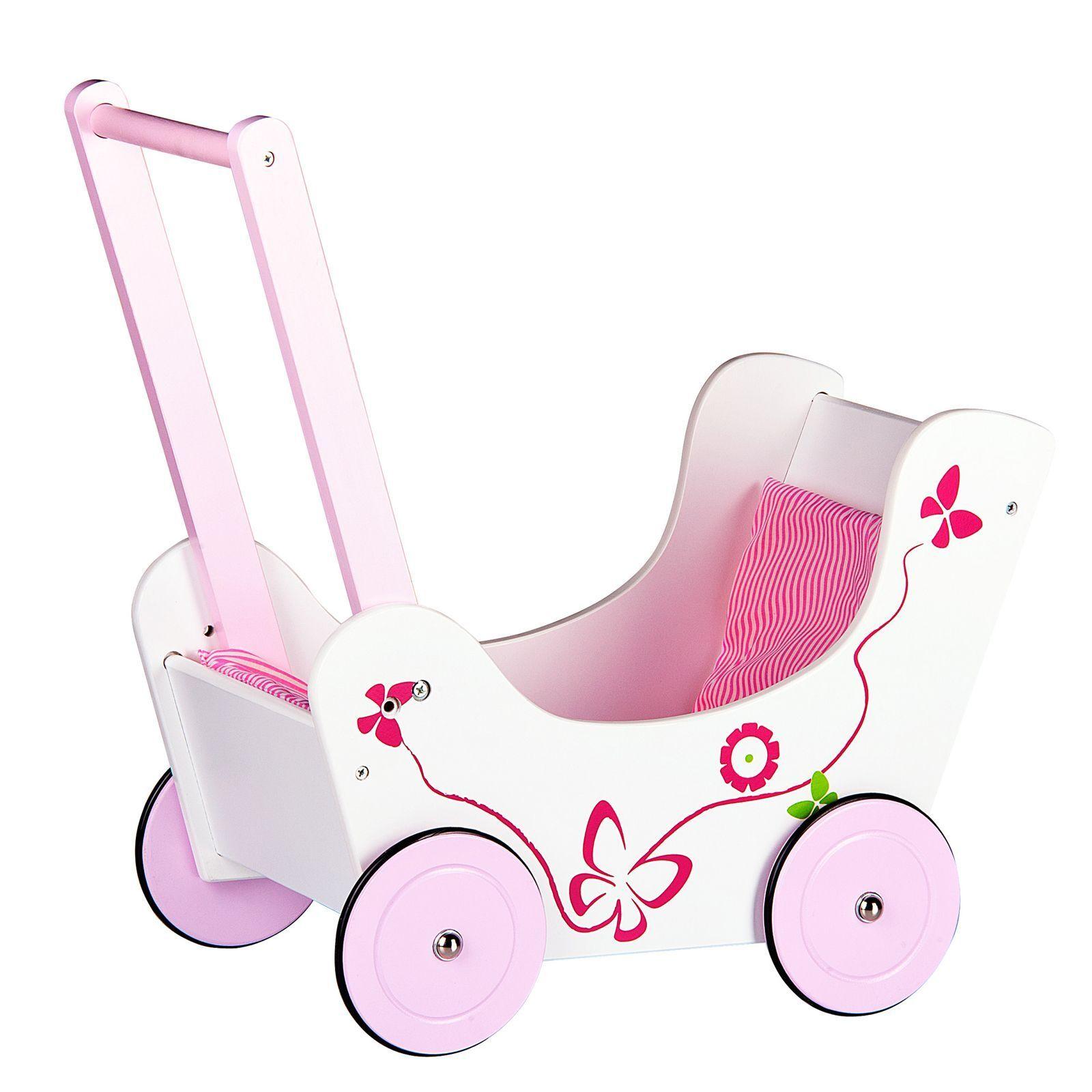 Holz Puppen Kinderwagen Neuer 18 Months +