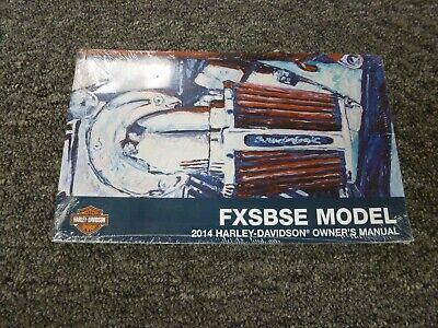 2014 Harley Davidson FXSBSE CVO Breakout Motorcycle Parts Manual 99458-14