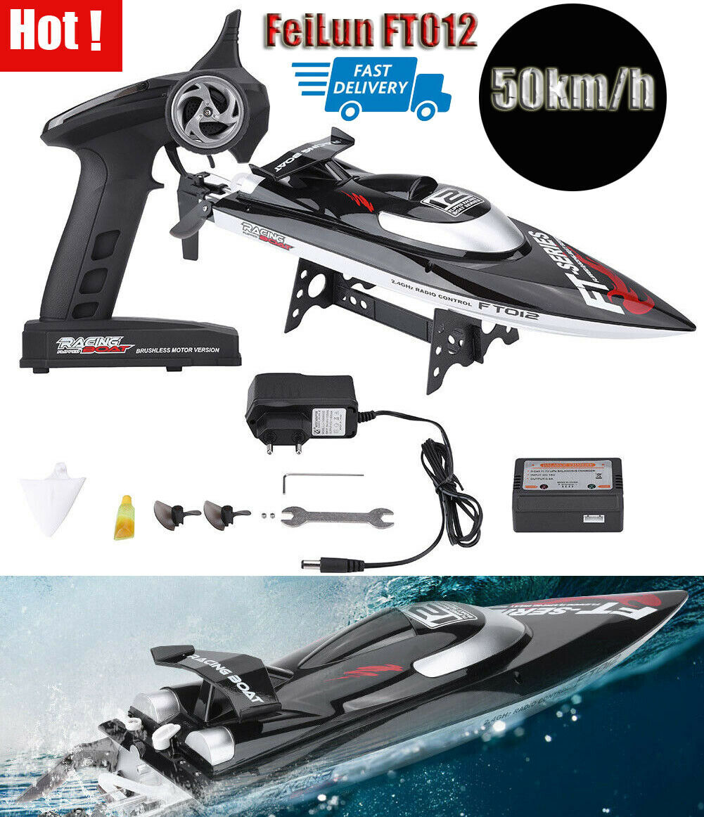 FeiLun FT012 50km h Racing Boat Speedboat Toy 2.4GHz Remote Control Ship