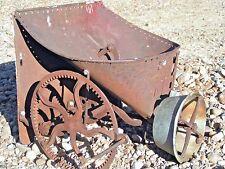 Antique Garden Seeder front
