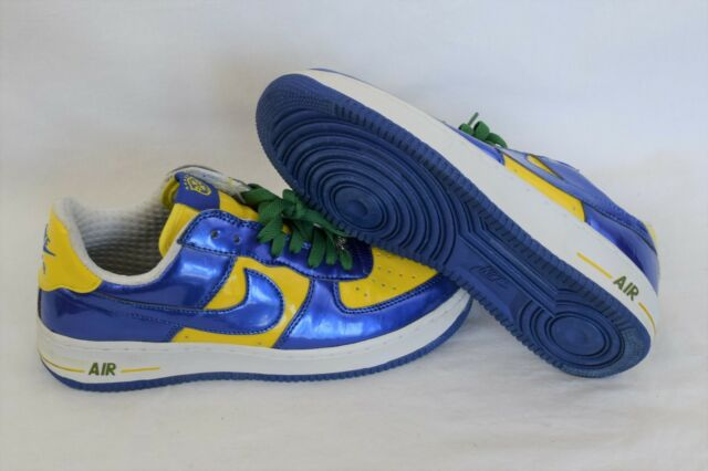 34e20488ddab Nike Air Force 1 Premium Brazil World Cup CBF Size 9.5 051101 LN2 11 ...