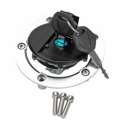 Fuel Gas Tank Cap Petrol W//key Fit Suzuki GSXR600 GSR750 GSX1250 GSXR1000 Black