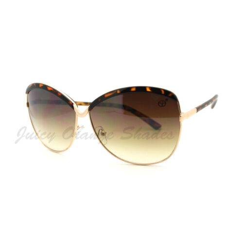 Designer Fashion Women/'s Sunglasses Oversize Butterfly Frame