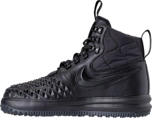 Nike Lunar Force 1 Duck Boots Black