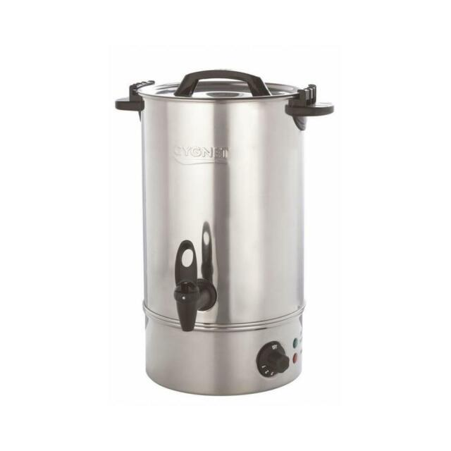 Burco Cygnet 30 Litre Hot Water Urn Tea / Catering Boiler Stainless ...