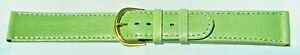 18mm-FLEURUS-HAND-MADE-GREEN-SEMI-GLOSS-DELUXE-CALF-LEATHER-WATCH-BAND-STRAP