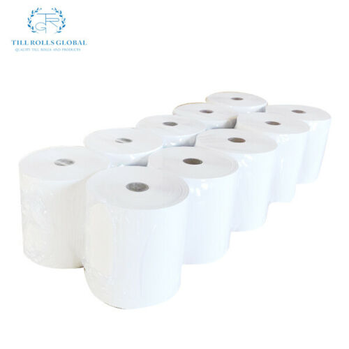 80 x 80mm EXTRA PAPER Thermal till rolls 10 rolls in a box