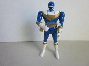 Power-Rangers-Hero-serie-5-Zeo-AUTOMORPHIN-Blue-Ranger-Bandai-Flip-Head-amp-Gun